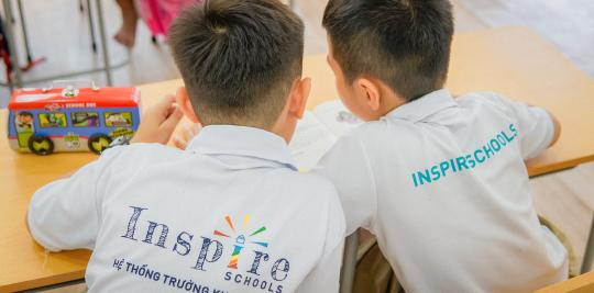 học sinh trường liên cấp chất lượng cao Khai Nguyên, trường tiểu học tốt nhất tại TPHCM