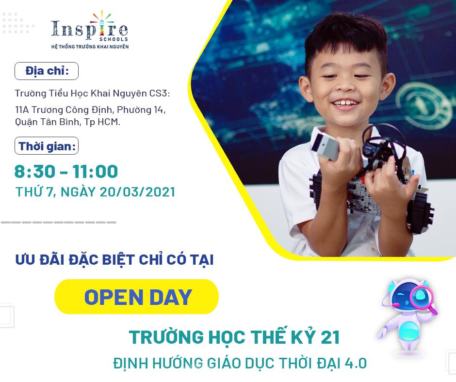 NGÀY HỘI OPEN DAY ISP SCHOOLS 2021 - TRƯỜNG HỌC THẾ KỶ 21