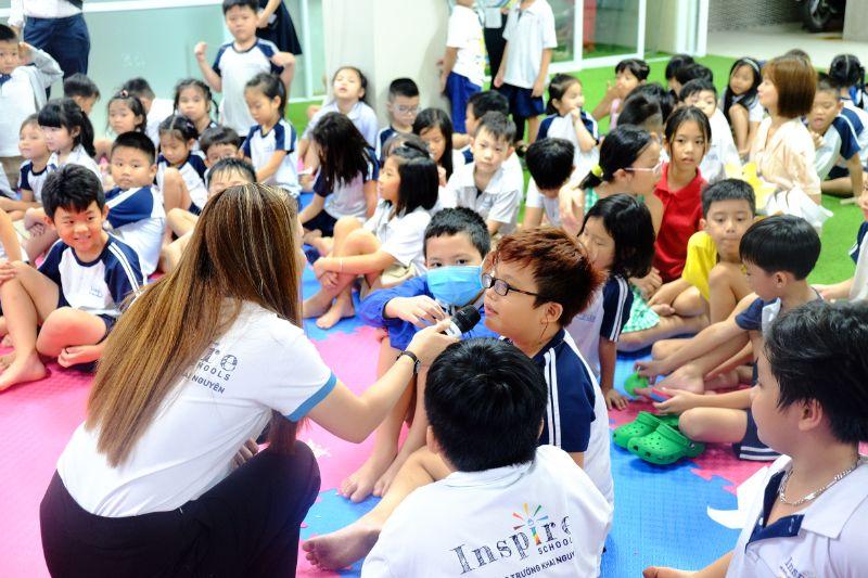ngoại khoá tại Trường tư thục tphcm ISP schools