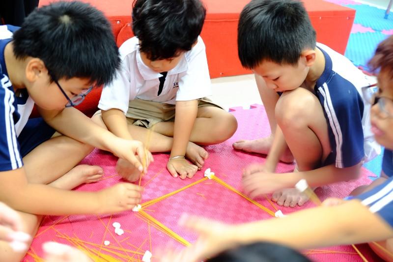 Học sinh trường liên cấp ISP tham gia học tập sáng tạo