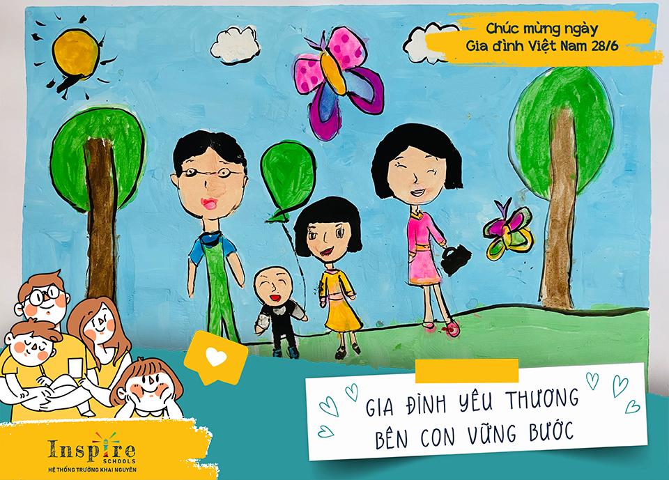 Bé Nguyễn Phương Quỳnh - lớp Tiền tiểu học